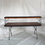6 foot bar with riser and skirt