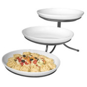3 tier Oval Tray with Stand
