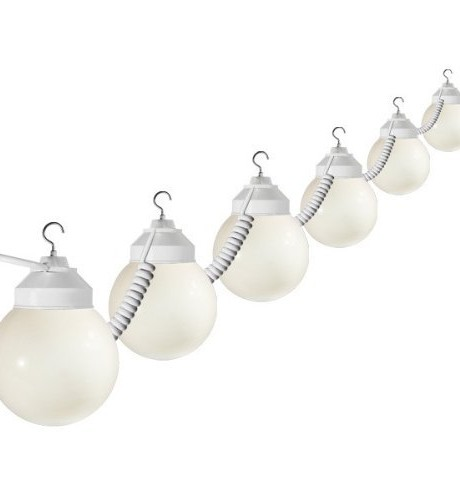 strand globe lights rental
