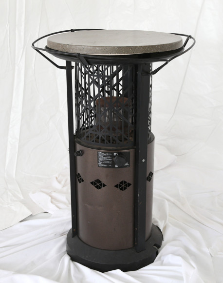 patio heater with table top