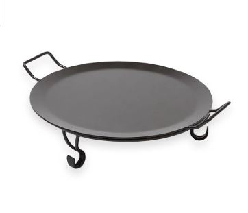 iron griddle non stick with stand