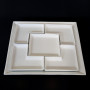 white tray 15in square inserts