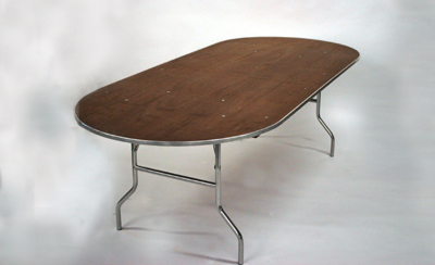 oval table rental