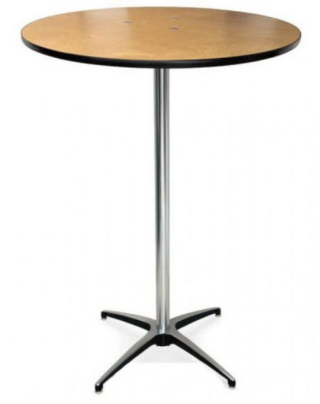 pedestal high top bistro table