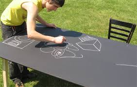 chalk table rental