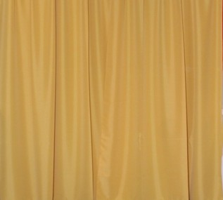 gold drape rental linen