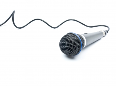 microphone w cable
