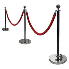 stanchion chrome rental