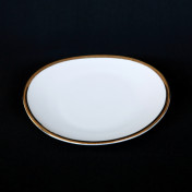 oval 6 bread butter rental plate