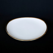 oval 8in salad rental plate
