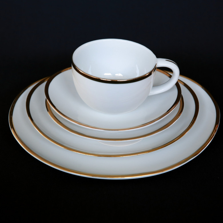 oval china pattern rental