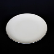 "platinum band rental 6"" bread and butter plate"