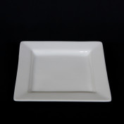 white square 6 bread butter plate rental