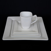 white square china pattern rental