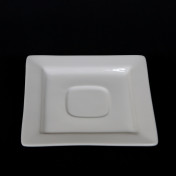 white square saucer rental