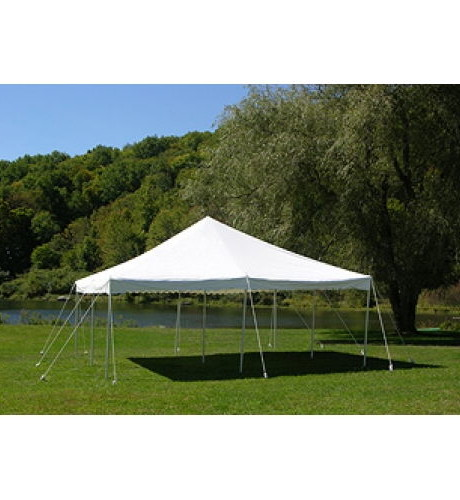 16' x 16' white canopy