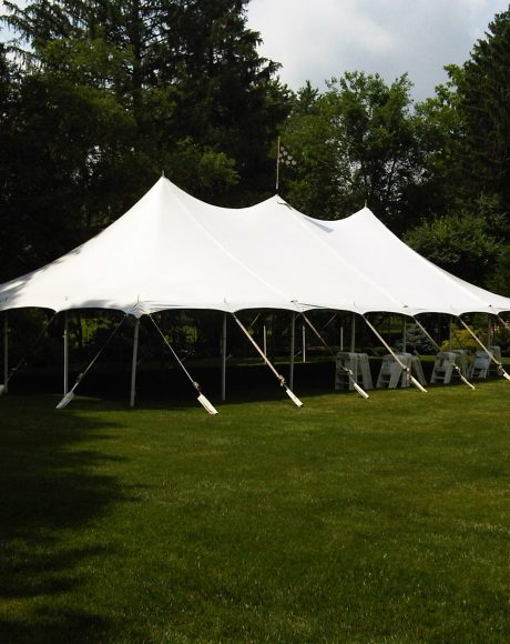 30x60 Bat Wing pole tent