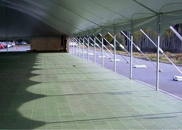 portable rental flooring