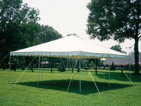 20x20 canopy white