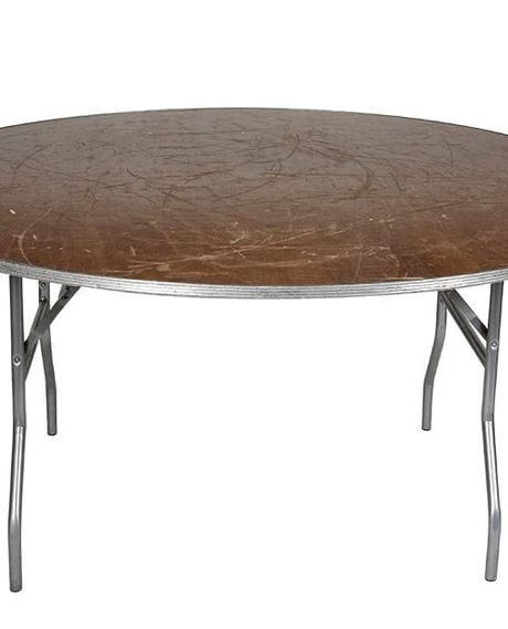 4 foot round rental table