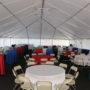 Janssen corporate picnic tent rental 50x frame tent