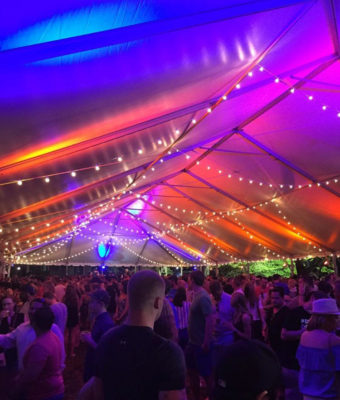 Philly Zoo Beer Fest frame tent rental 50x frame tent