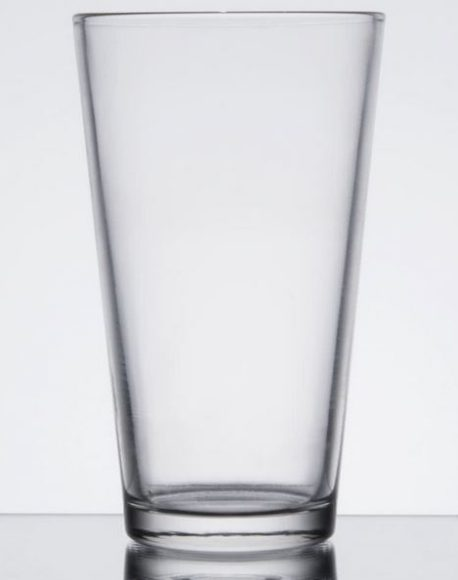 pint 16oz glass