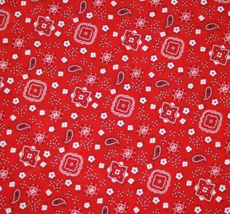 Bandana Red theme linen