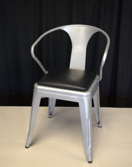 silver tabouret chair rental