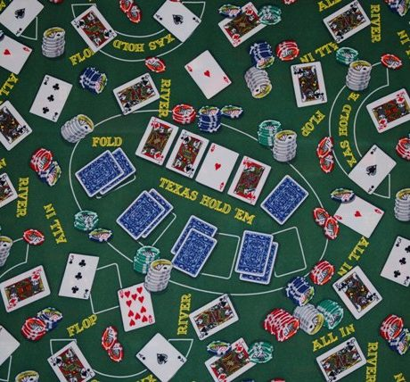 Poker themed party Linen