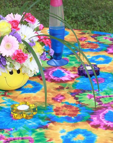 Tie Dye table linen