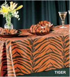 African Collection Tiger linen