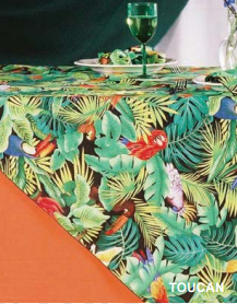 Toucan African collection linen
