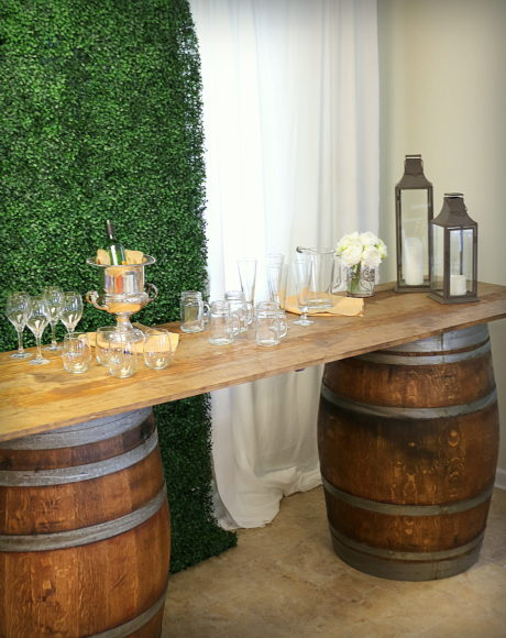 barrel bar rental