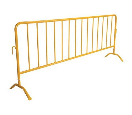 yellow barricade