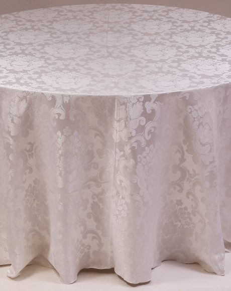 ANTIQUE WHITE Beethoven Damask