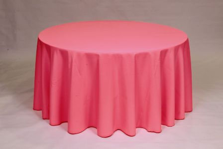 Solid Neon Pink Poly linen