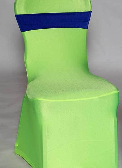Spandex Neon Yellow Chair Cover