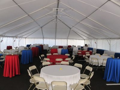 company picnic frame tent rental