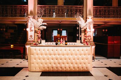 crystal bar surround rental