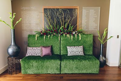 grass loveseat furniture rental