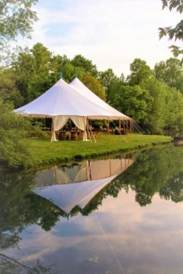 Aurora Sailcloth Wedding Tent