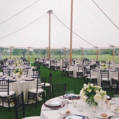 Aurora Sailcloth Decor Tent