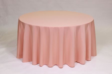 Coral Poly linen solid