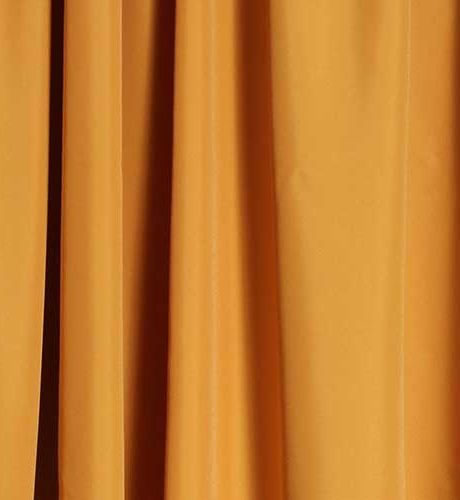 drapes swatch gold