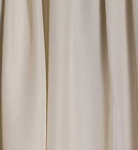 pipe and drape ivory drape