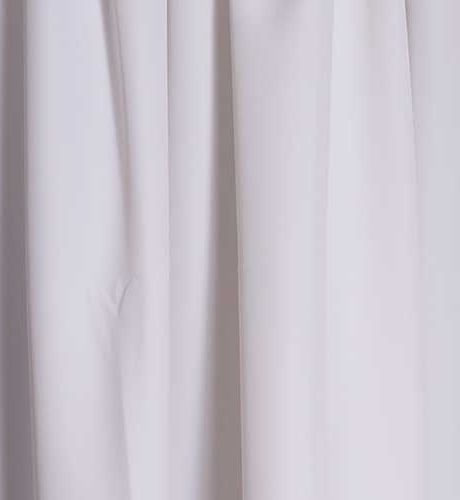 pipe & drape white drape