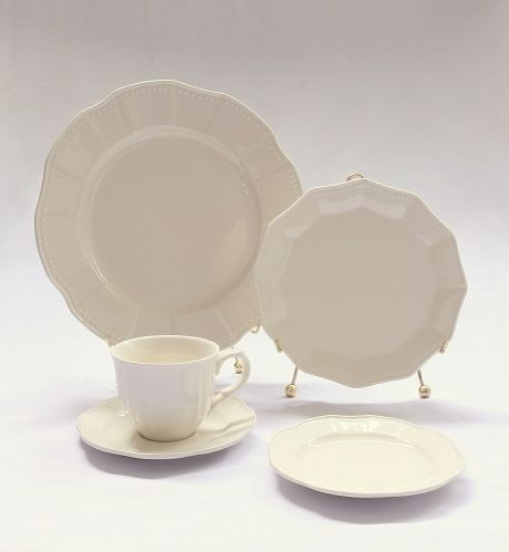 provence cream china pattern rental