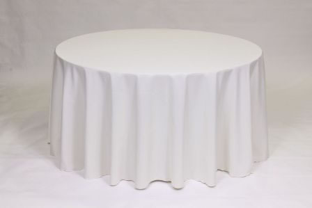 Ivory Poly solid linen