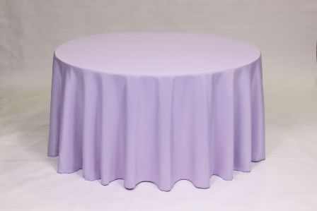 Lilac Poly solid linen